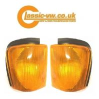 Mk2 Scirocco Amber Front Indicator Set